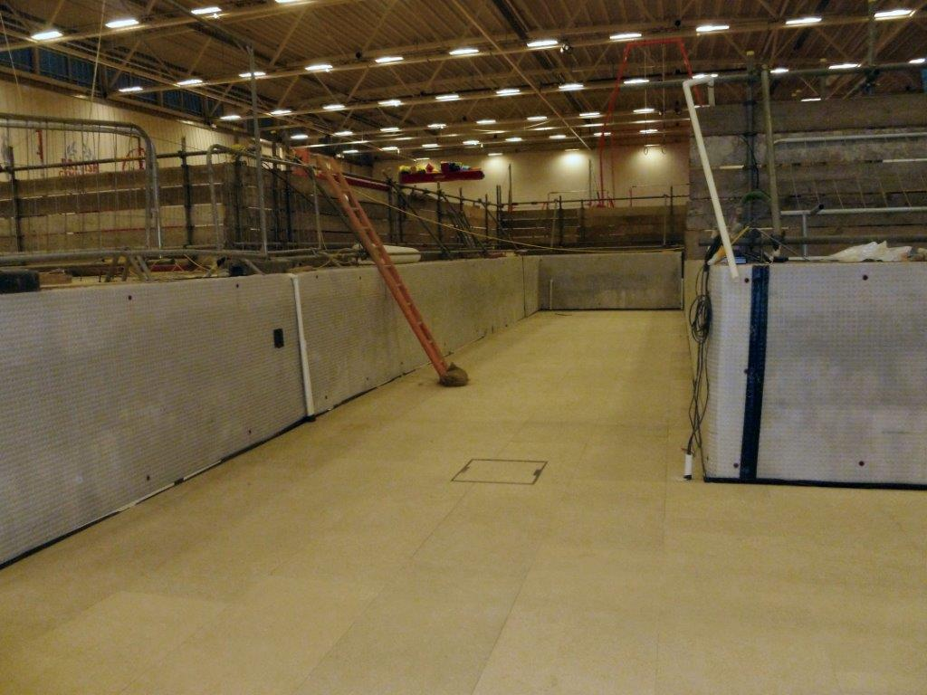 Remedial Waterproofing Installation During Commerical Refurbishment