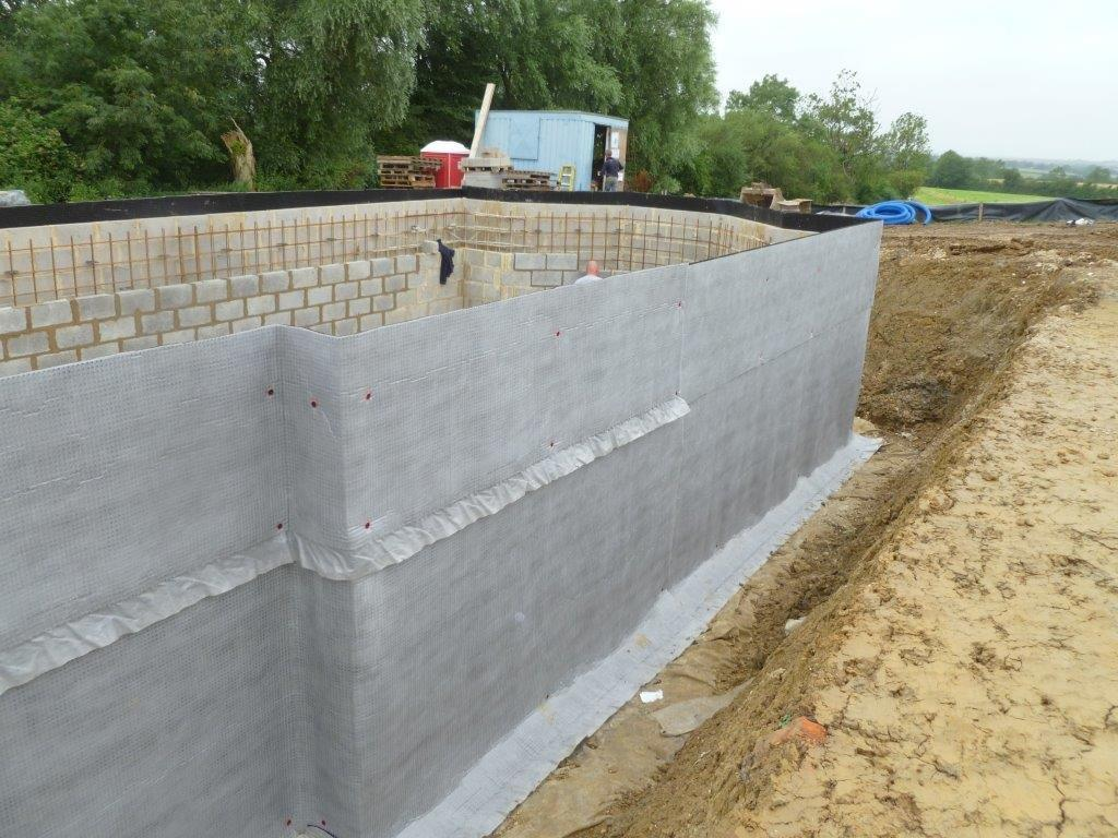 Waterproofing Membrane For Protection : External waterproofing protectahome design