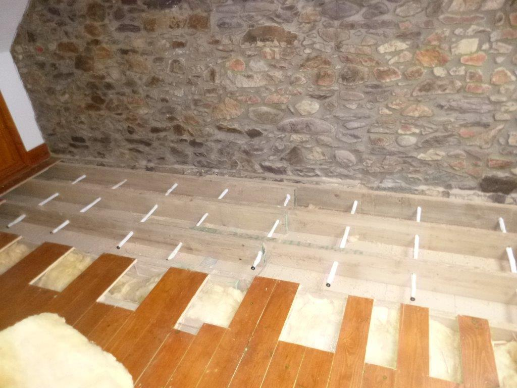 Helifix Sock Anchors installation to restore lateral restraint to bowing wall
