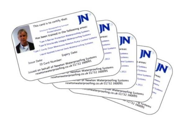 Newton Certified Card Holders