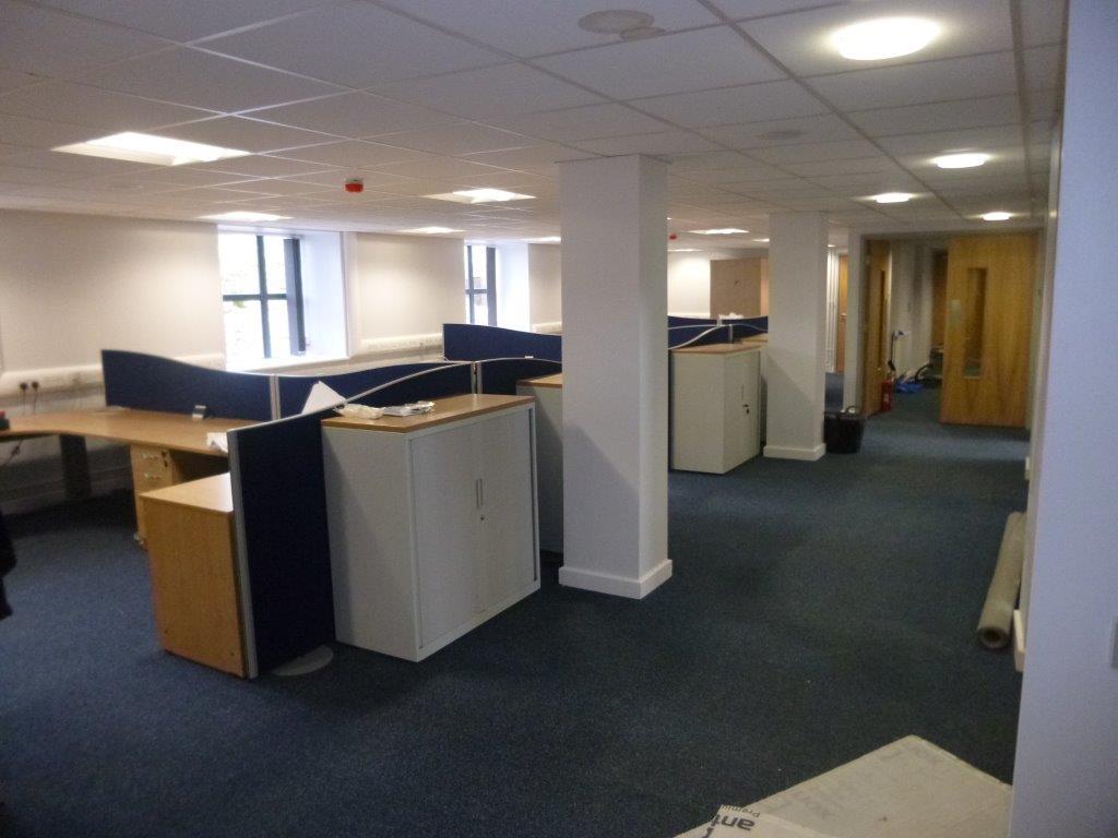 Office Renovation Following Successful Waterproofing Installation