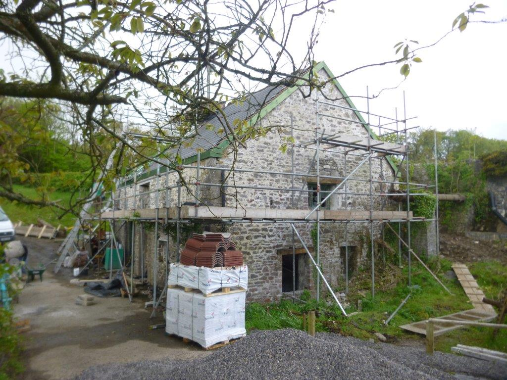 Initial Survey and Assessment of Barn Conversion.