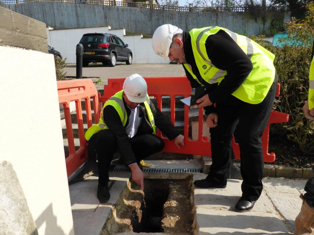Specialist Waterproofing Inspection as part of Consultancy Agreement