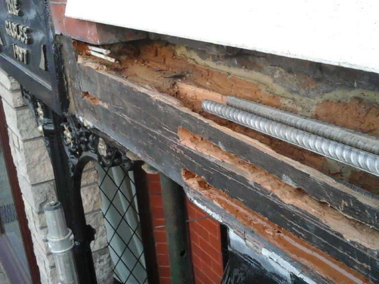 Timber Beam Resin Repairs