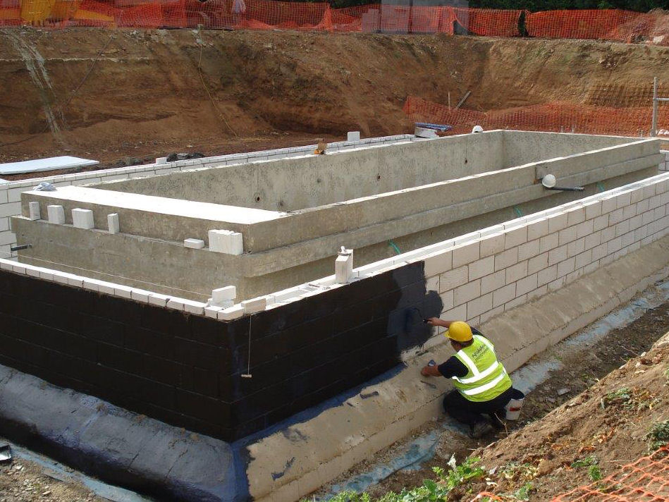 Build A Membrane : New build waterproofing protectahome nhbc labc