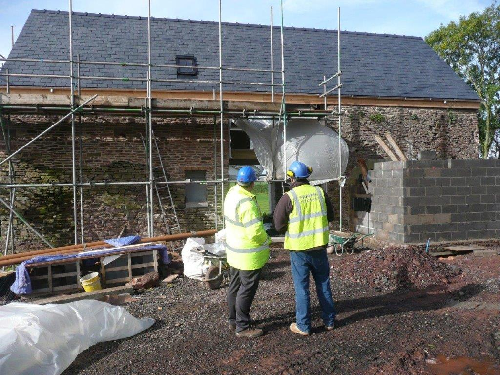 Protectahome Specialist Surveyor and Technician Consultation During Barn Conversion.