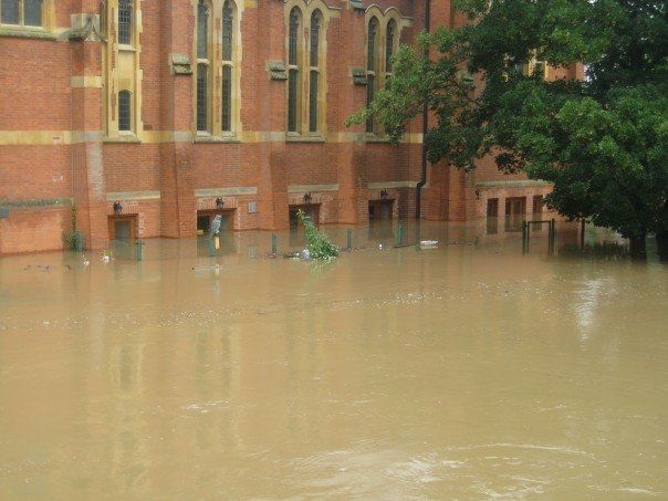 Protectahome Church in Flood