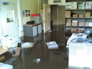 Flooded Office