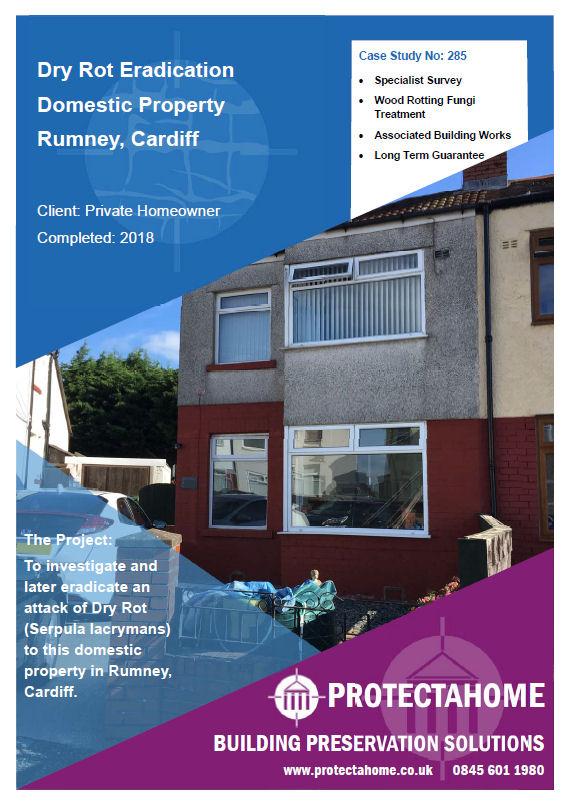 Dry Rot Eradication, Rumney, Cardiff