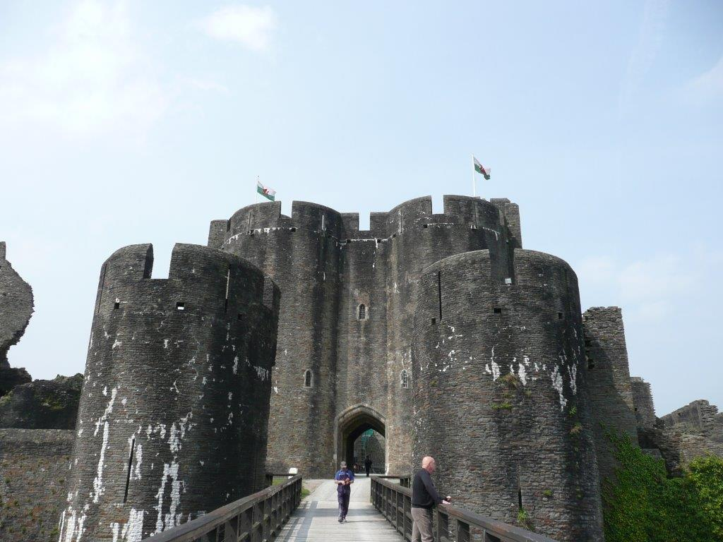 Cintec Anchors Installed in Front Towers of Caerphilly Castle