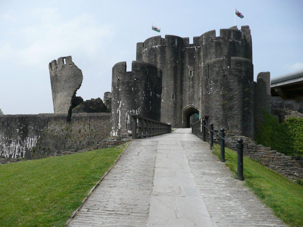 Diamond Drilling Complete to Release Trapped Water Within Caerphilly Castle Walls