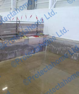 Waterproofing required at Benfield Gymnastics Centre, Newcastle