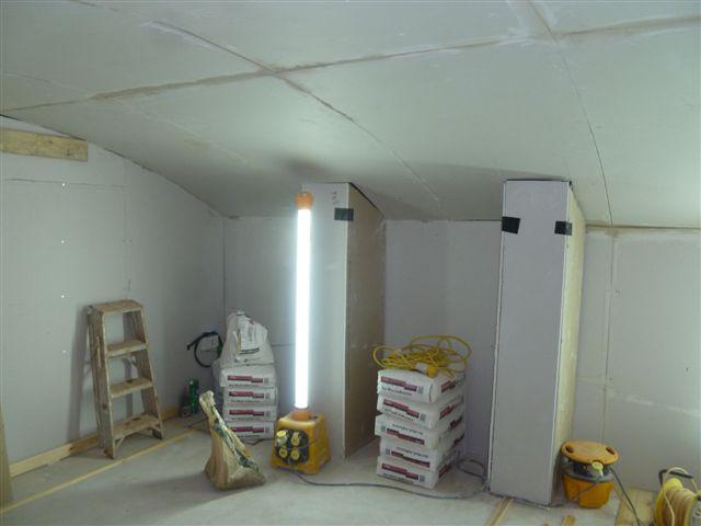 Basement Conversion work underway