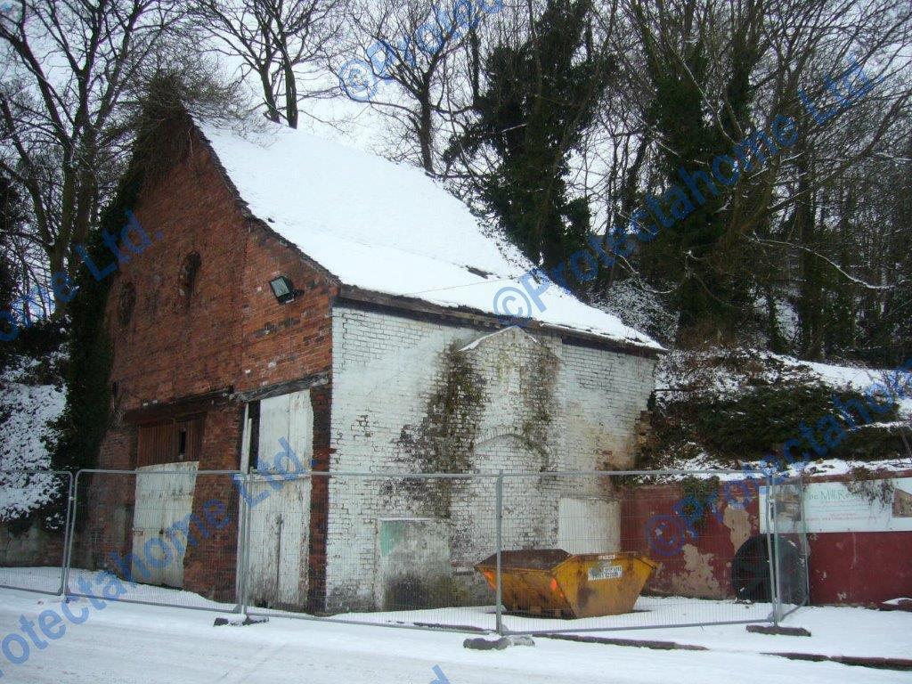 Flint Mill prior to restoration work