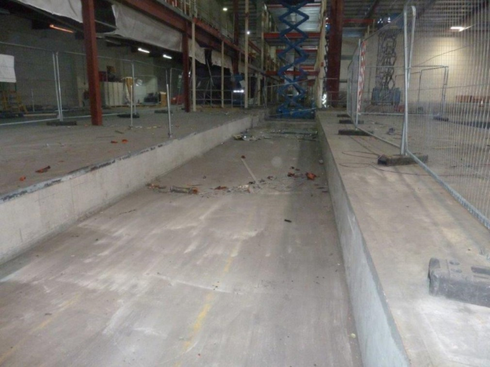 Foscroc Tanking, Commercial Warehouse