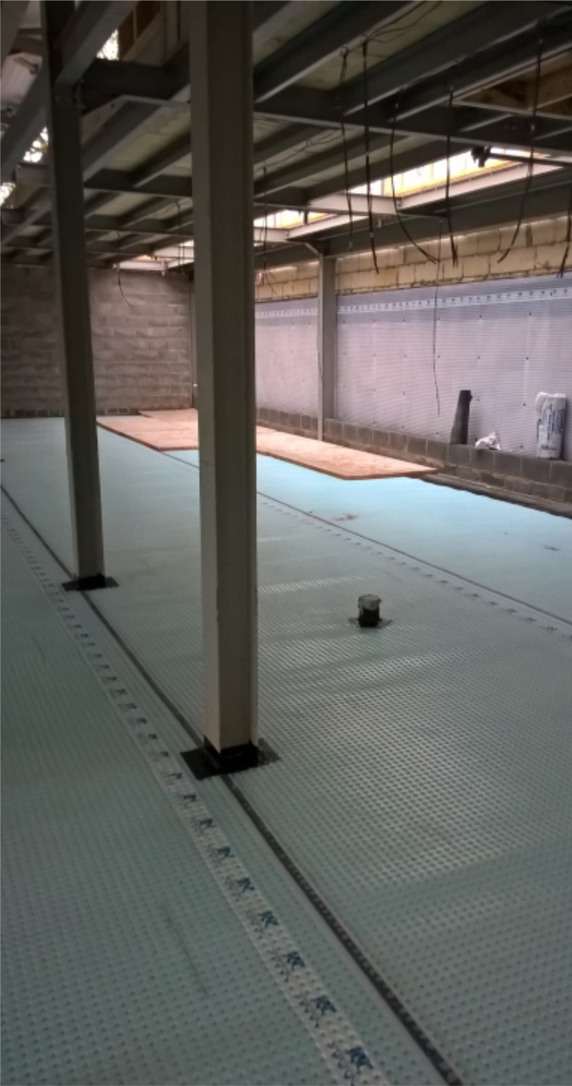 Commercial New Build Waterproofing