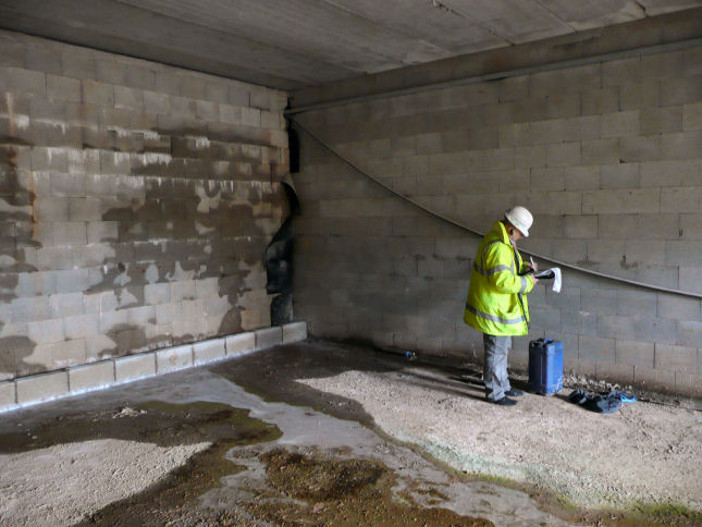 Ground Water Penetration Investigation by Protectahome Specialist Surveyor