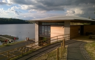 The Award Winning Visitor Centre at Llandegfedd Reservoir