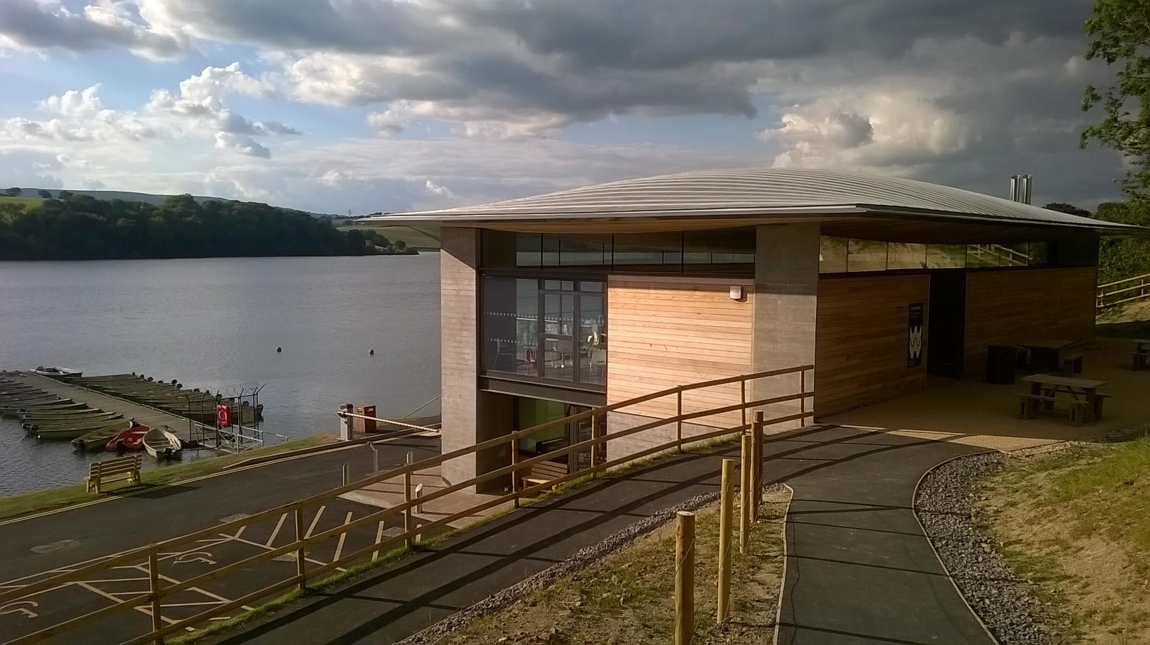 The Award Winning Visitor Centre at Llandegfedd Reservoir