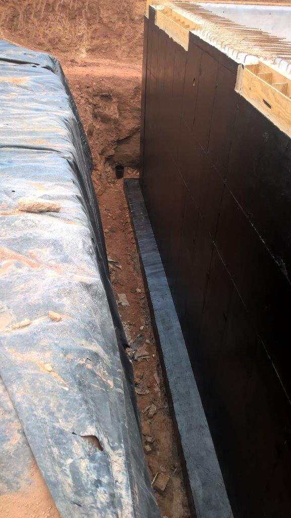 New Build Basement Waterproofing