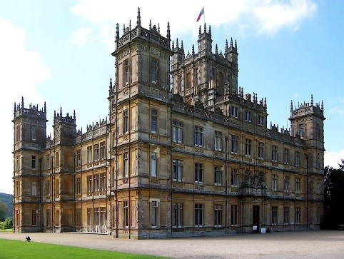 The attack took place at the Highclere Castle Estate, which is the setting of the popular ITV Drama Downton Abbey.